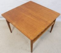 1960 S Teak Square Coffee Table